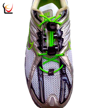 JUP 12 Pair Fastwear Lazy Adult Child Shoes Laces Locking Elastic Shoestring Shengdai Jogging Triathlon Running Fitnes Shoelace