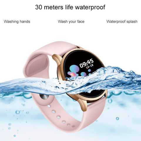LIGE Fitness Tracker IP67 Waterproof Smart Bracelet Screen heart rate Monitor Pedometer Smart Wristband Sport smart watch Women Multan