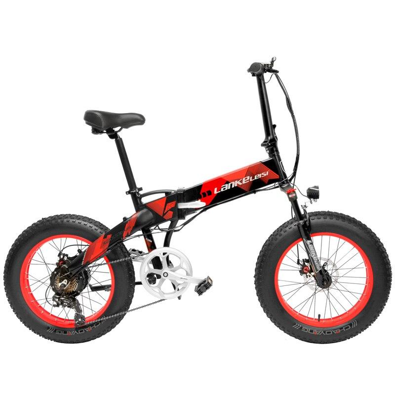 20 дюймов складной горный велосипед 500 Вт 48 В 12.8ач литиевая батарея толстый велосипед электрический велосипед 5 уровня педаль Assist подвеска ви