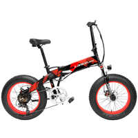 20 zoll Klapp Mountainbike 500W 48V 14.5Ah Lithium-Batterie Fett Bike Elektro Fahrrad 5 Ebene Pedal Unterstützen suspension Gabel
