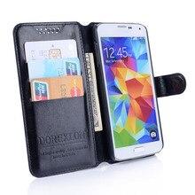 Brieftasche Ledertasche für Samsung Galaxy Xcover 4 Xcover4 G390F SM G390F Abdeckung Luxus Retro Flip Coque Telefon Tasche Stand Karte halter