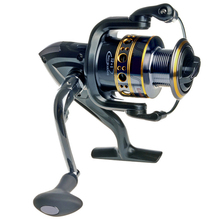Free shipping Spinning Fishing Reel Fishing reel  Carp Ice Fishing Gear 5.5:1 Real 13BB casting reel