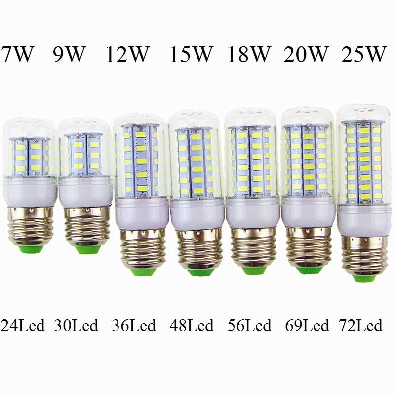 Light Bulbs Lights & Lighting Tsleen 1pc New Corn Led Lamp E27 E14 Gu10 G9 B22 7w 9w 12w 15w 20w 25w Led Light Ac 220v Led Bulb Chandelier Light Spotlight