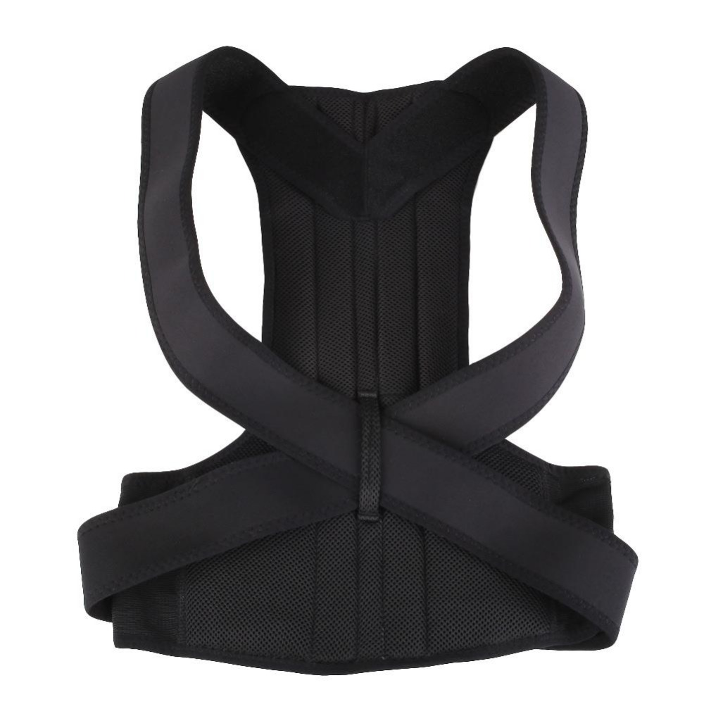 Health Care Adjustable Posture Correction Back Support Corrector Brace Shoulder Belt Free Size