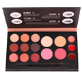 Miss doozy Eyeshadow Plate Balm Lipstick Blush Colorant Concealer Contour Corrector Cosmetic Gift Makeup Palette Shadow Brush