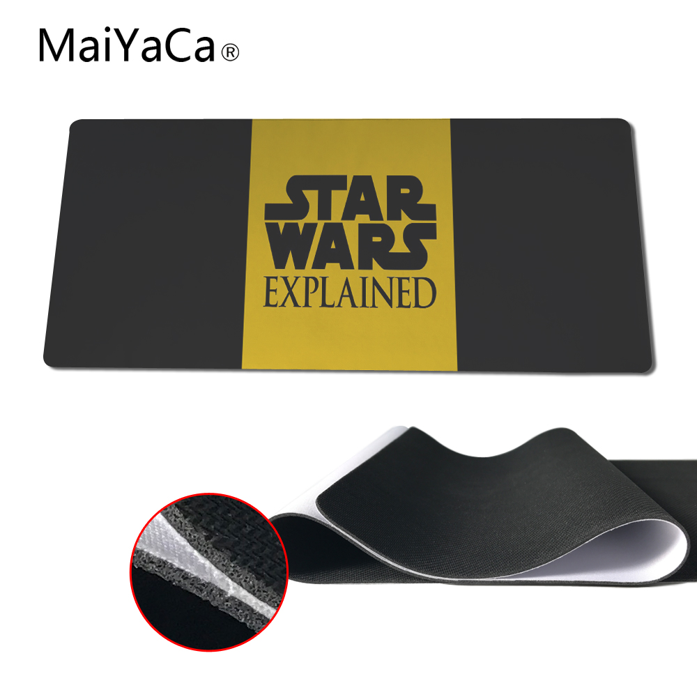 MaiYaCa The Best Choice for Gifts Star Wars Game Gaming Mouse Pad Mat Mousepad as Gifts Wholesale Not Lock Edge Mouse Pads