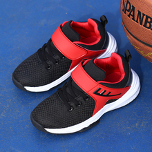 boys  Shoes light weight  Casual sneaker mesh breathable spring new style sports running kids shoes boys basketball footwear цена в Москве и Питере