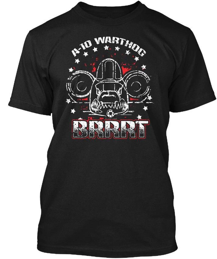 Shirt Shop Gift O-Neck Short-Sleeve A-10 Warthog Brrrt Shirts For Men