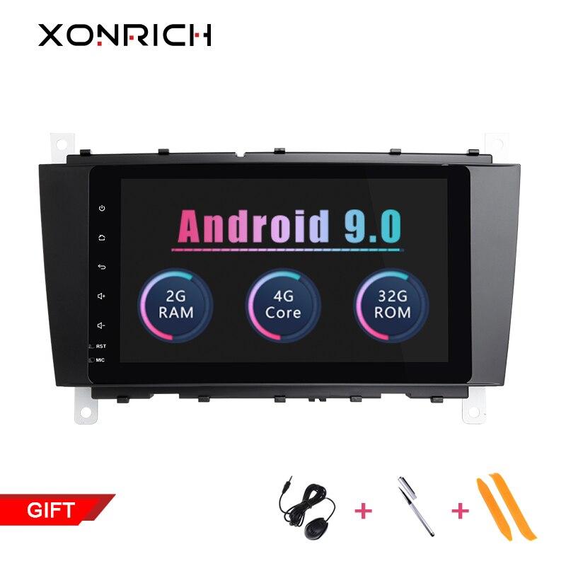 Xonrich Auto Multimedia Player 2 Din Android 9.0 GPS Autoradio Per Mercedes/Benz/Sprinter/W203/W209 /A180/Viano/Vito/A-classe ISPXonrich Auto Multimedia Player 2 Din Android 9.0 GPS Autoradio Per Mercedes/Benz/Sprinter/W203/W209 /A180/Viano/Vito/A-classe ISP
