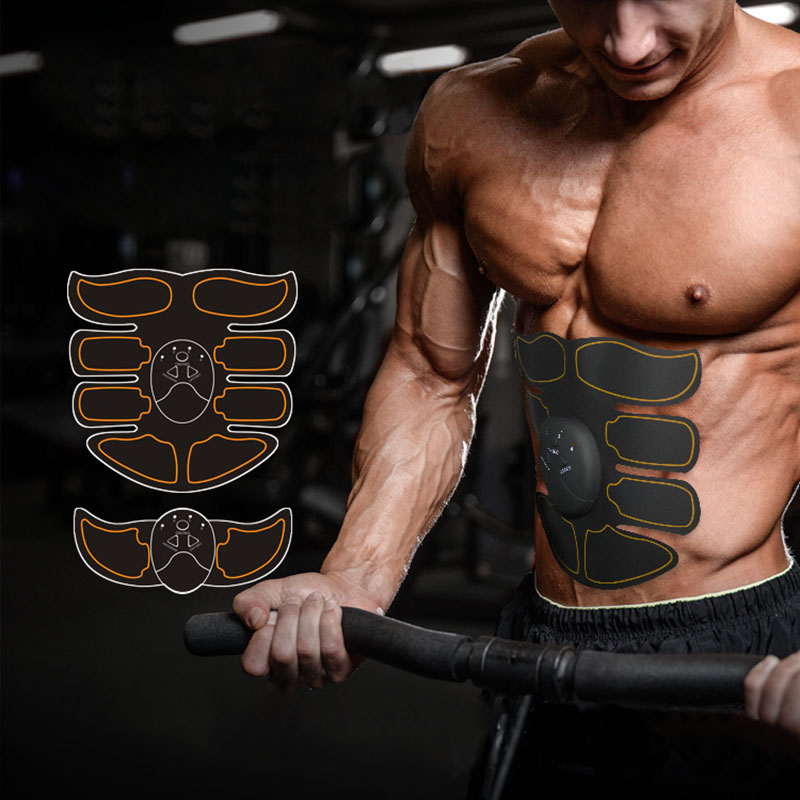 Multi EMS Bauch Muskel Trainer Elektronische Muscle Stimulator Exerciser Maschine Körper Abnehmen Fitness Massage Anzug