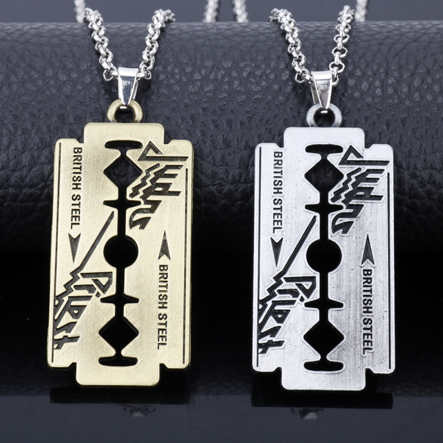 Razor Blade Chain Necklace 6
