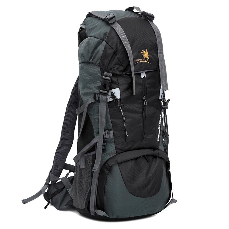 Chevalier gratuit grand Camping randonnée sac à dos 70L cadre interne étanche escalade en plein air alpinisme sac à dos sacs de voyage