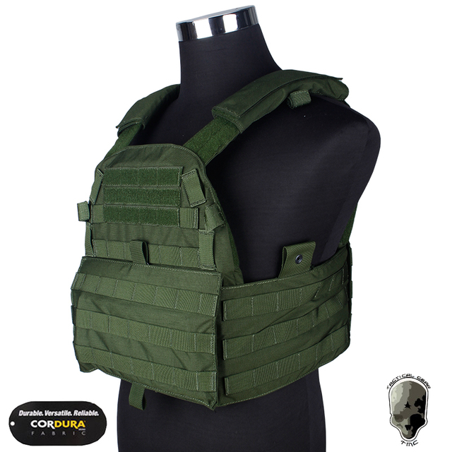 TMC 6094 Plate Carrier Genuine Material MOLLE Vest Body Armor Army Cosplay  Military Camouflage Combat Equipment TMC1327 2957a3f2e07