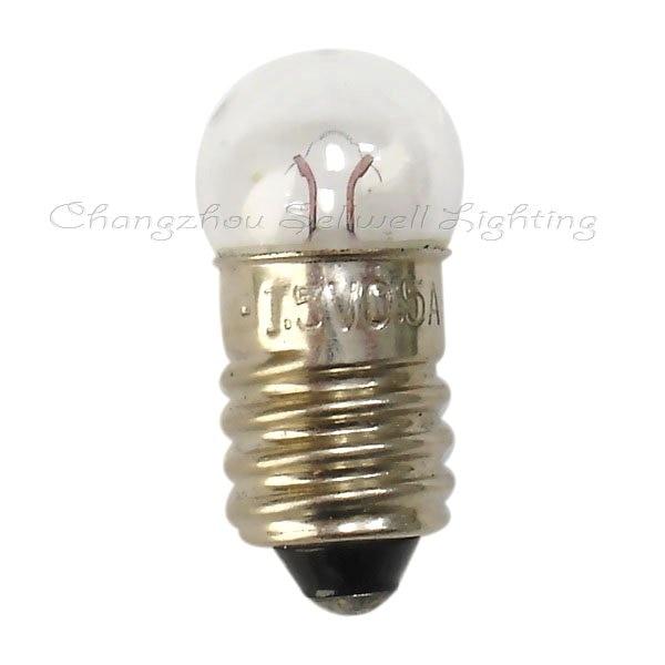 New!guaranteed 100%!e10 G11 1.5v 0.5a Small Light Miniature Lamp Bulb Light A165