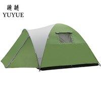 3 4 человек Водонепроницаемый складной палатка туристические палатки на открытом воздухе туристическое снаряжение для внутренней пляж для