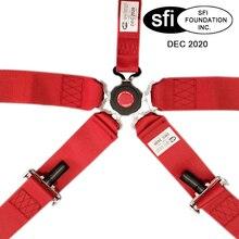 Горячая Распродажа, Новое поступление, от 1 единицы 3 ''5-ти точечные безопасности гоночный жгут ремень безопасности для машинного сидения с SFI одобренный истечения срока действия SFI03
