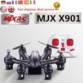 RC Quadcopter MJX X901 Mini Hexacopter Drones com 2.4 GHz 6 Eixos Giroscópio 3D com Rolo de Tropeço da Função de Controle Remoto helicóptero