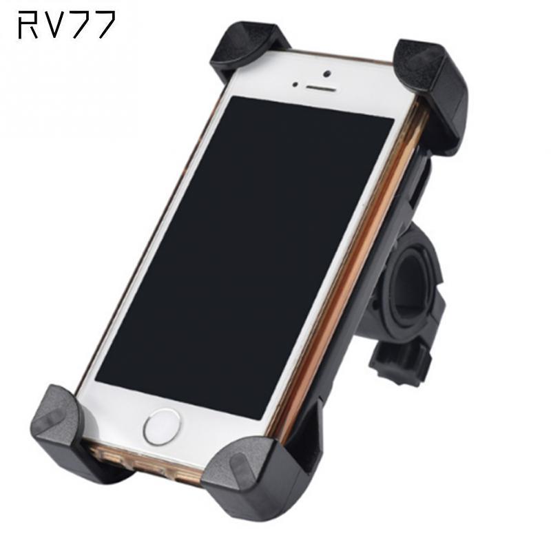 New Smart Anti-Slip Universal 360 Rotating Bicycle Bike Phone Holder Handlebar Clip Stand Mount Bracket For Smart Phone