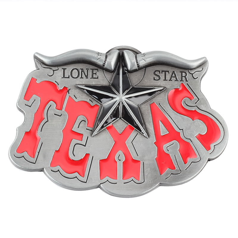Texas Series Belt Buckle Belt In Western Style Accessories Suitable For 3.8cm Width