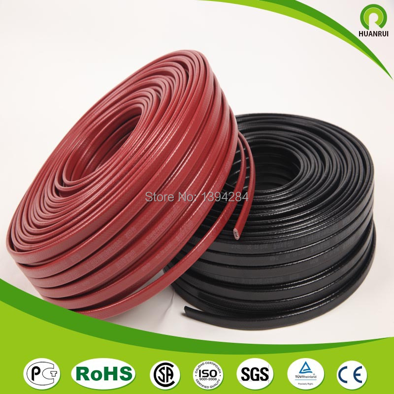 45 meters 25w Best Selling Wrap on Pipe Heat Tracing Flat Ribbon ...