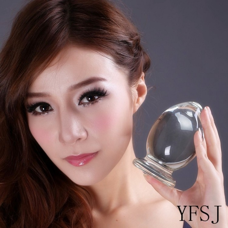 110*70mm Crystal penis, glass dildos anal plug toys, G-spot and vaginal stimulation, sex toys for women, sex adult products prostate massager g spot large dildos backyard plug lifelike penis simulation penis adult health anal masturbation c3 1 88