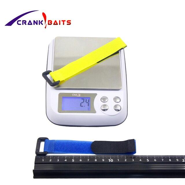 1pcs Reusable Fishing Rod Tie Holder Strap Suspenders Fastener Hook Loop Cable Cord Ties Belt Fishing Accessories YB329  1