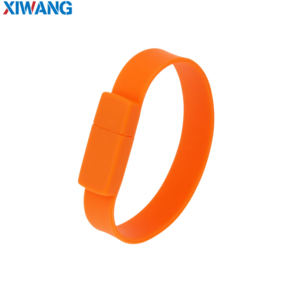 Image 5 - New Creative Silicone bracelet Wrist Band usb flash drive 128GB 64GB 32GB 16GB 8GB Pen drive Pendrive usb stick free shipping-in USB Flash Drives from Computer & Office