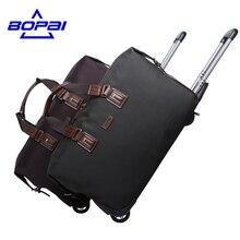 2017 Женщины Роллинг Багажа поездки чемодана Водонепроницаемый Тележка Дорожные Сумки Выходные Duffle Bag MenTravel Сумка maletas де viaje BOPAI