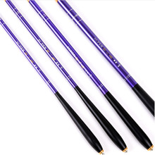 LEO 2.1m-4.5m Stream fishing rod carbon fiber telescopic fishing rod ultra-fine carp fishing pole