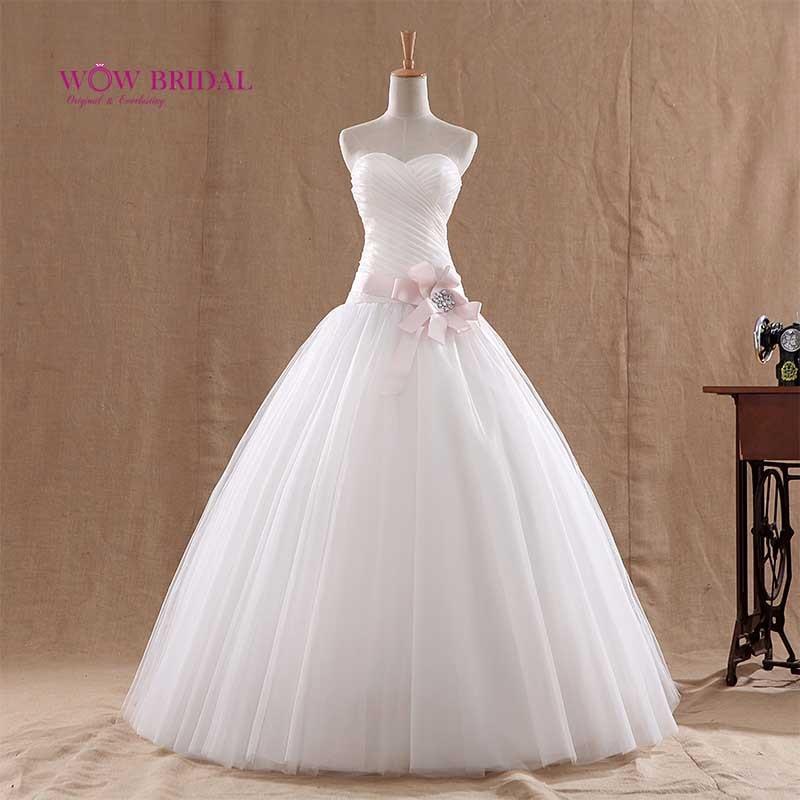 Online Wow Bridal Princess White Wedding Dresses Elegant