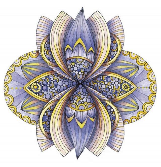 Mandalas Fantasy Creative Coloring Book Relieve Stress Kill Time Graffiti Painting Drawing Antistress Art Adult Coloring Books