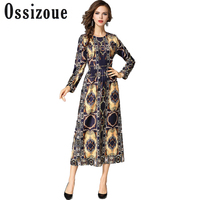 2017 Autumn New Woman Elegant Sexy Leopard Printing Dress Female O Neck Slim Dress Fashion Casual