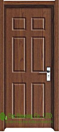 Modern Interior Swing PVC Door