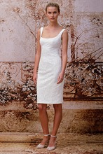 цена на new sexy vestido de festa knee length 2015 cheap formal gown party dress free Shipping custom lace women white Cocktail Dresses