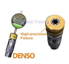 Usado para denso comum trilho injector viagem ferramenta de medição assento com dial gauge, ferramenta de reparo do carro diesel