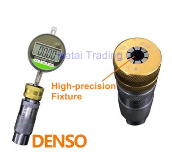 Used for Denso Common Rail injector travel measuring tool seat with dial gauge, diesel car repair tool