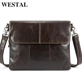 97d182ae9234 WESTAL сумка мужская через плечо сумка мужская натуральная кожа кожанная  сумка на плечомаленька сумки мужские