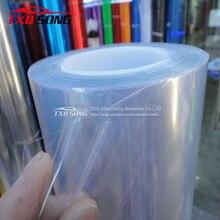 1,52*15 м/рулон защита от краски автомобиля фольга PPF 3 слоя Глянцевая Прозрачная автомобильная краска защитная пленка для автомобиля