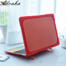 "For macbook retina 12""A1534 Double computer protective laptop case with kickstand For macbook retina 12""A1534"