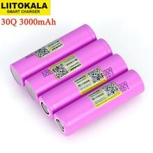 Liitokala 3,7 V 18650 Original ICR18650 30Q 3000mAh lithium akku Entladung 15A 20A Batterien