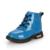 Otoño e invierno zapatos de moda para niños niñas niños botas de cuero de LA PU de calidad de seguridad al aire libre Martin botas tamaño 21-36