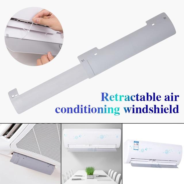 Windguard кондиционер лобовое стекло расширяемый воздушный демпфер пластиковый Ресторан газовые дефлекторы Кондиционер