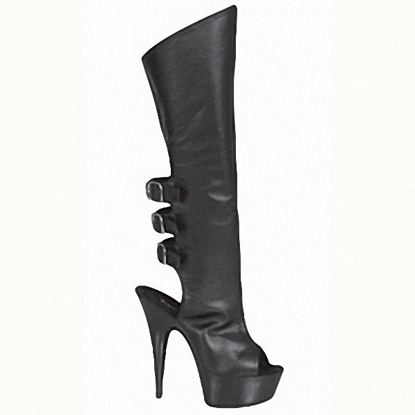 15cm Package mail fish mouth slingback sexy black temptation Side zipper bow cute princess nightclub high-heeled boots15cm Package mail fish mouth slingback sexy black temptation Side zipper bow cute princess nightclub high-heeled boots