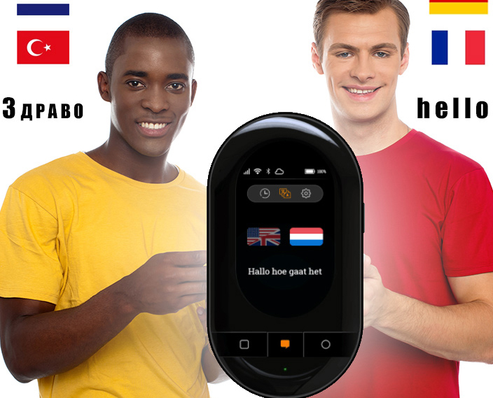 US $241 0 35% OFF|Upgraded Travis touch 2 0 voice translator offline online  155 language translation Interpreter Travel abroad-in Translator from