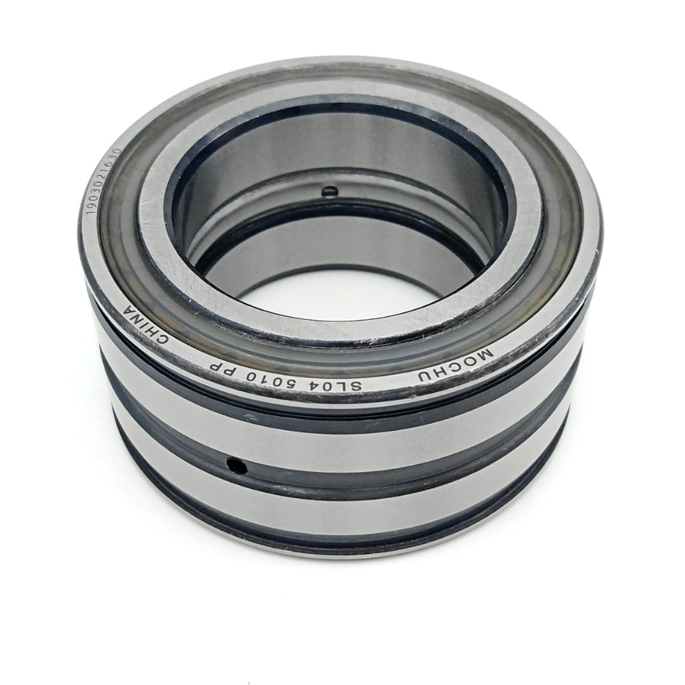1pcs SL04 5010 PP NR 50X80X40 SL045010 E5010N NNF 5010 ADB-2LSV MOCHU Double Row Full Complement Cylindrical Roller Bearing