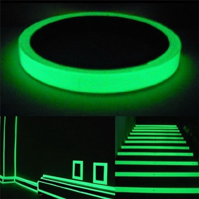 Green Glow In Dark Wall Sticker Luminous Photoluminescent Stage Home  Decoration Glow Furniture Stickers Plane Wall