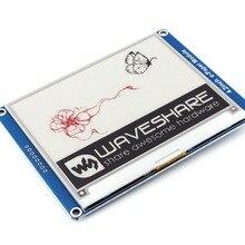 Waveshare Módulo de papel electrónico de 4,2 pulgadas (B) Pantalla de tinta electrónica interfaz SPI de tres colores Rojo Negro Blanco para Raspberry Pi/Arduino/STM32