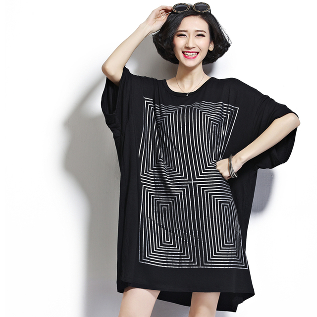 Free shipping – 2015 spring and summer plus size  clothing 150kg mm  extra large short-sleeve T-shirt