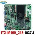 M100_218 intel celeron 1037u thin mini itx htpc mainboard