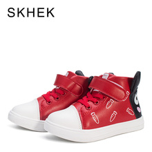 SKHEK Children Boots Kids Girl Boys Sneakers Toddler Shoes High Quality Childrens Casual Fashion